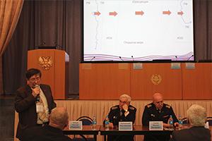 Круглый стол Владивостокского морского собрания и Дальневосточной ассоциации морских капитанов.