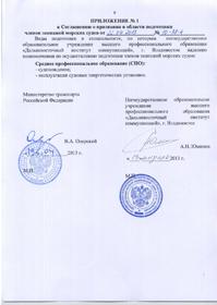Соответствие ДВИК Приказу Минтранса России от 10.02.2010 №157 СПО